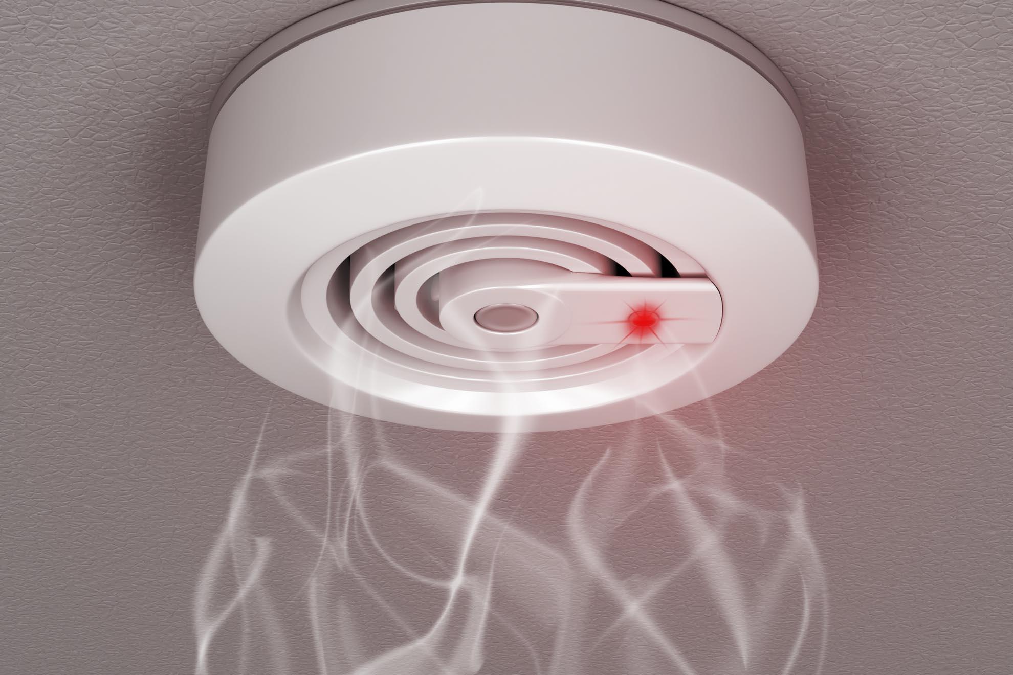 rilevatori fumo, gas e antincendio